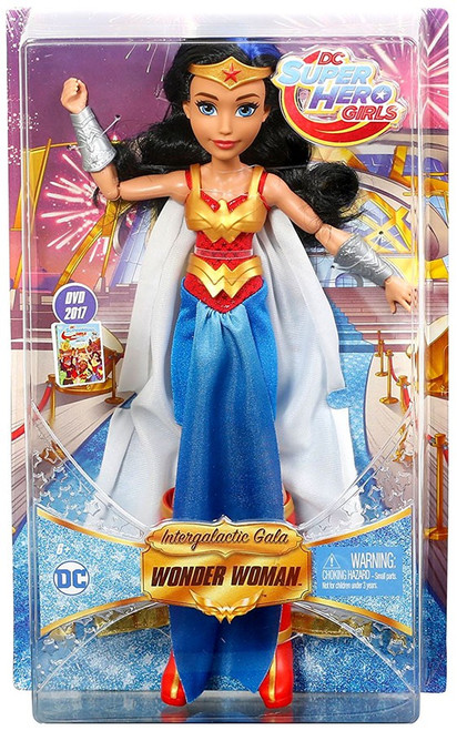 DC Super Hero Girls Intergalactic Gala Wonder Woman 12-Inch Deluxe Doll