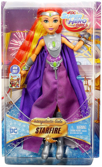 DC Super Hero Girls Intergalactic Gala Starfire 12-Inch Deluxe Doll
