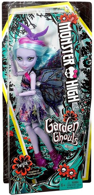 Monster High Garden Ghouls Wings Twyla Doll