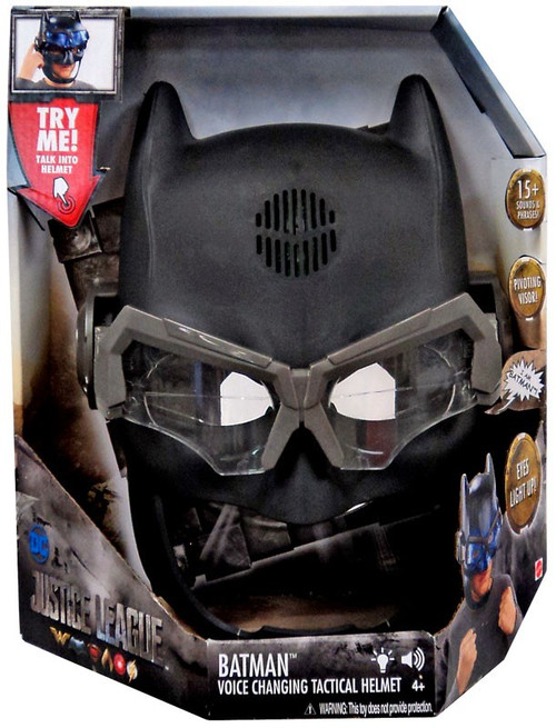 DC Justice League Movie Batman Voice Changing Tactical Helmet