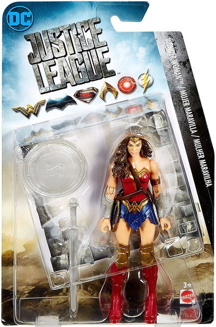 DC Justice League Movie Wonder Woman Action Figure