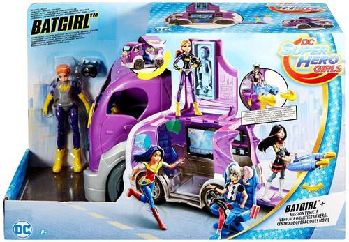 DC Super Hero Girls Batgirl & Mission Vehicle Action Figure Play Set