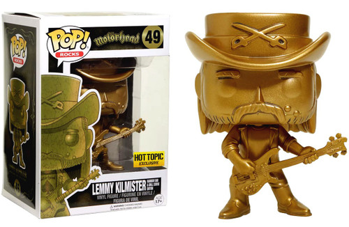 Funko Motorhead POP! Rocks Lemmy Kilmister Exclusive Vinyl Figure #49 [Rainbow Bar & Grill Statue Edition]