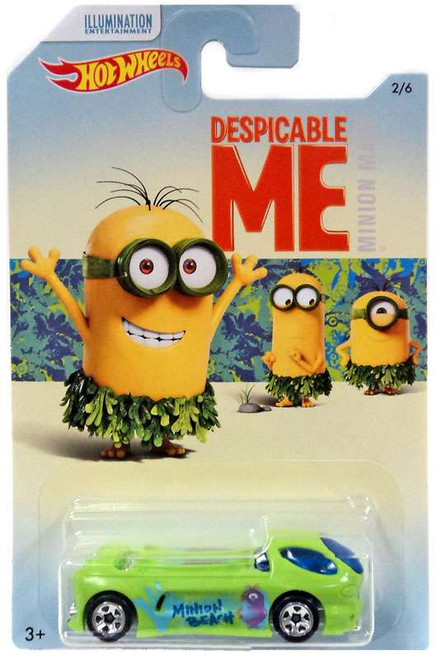 Hot Wheels Despicable Me Minion Made Deora II Die-Cast Car