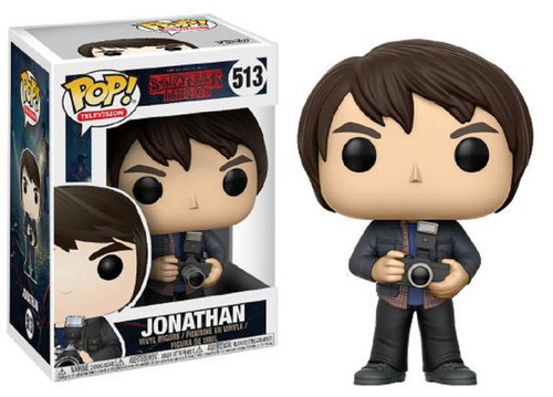 Funko Stranger Things POP! TV Jonathan Byers Vinyl Figure #513 [Holding Camera]