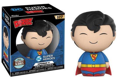 Funko DC Dorbz Superman #1 Exclusive Vinyl Figure #377 [Specialty Series]