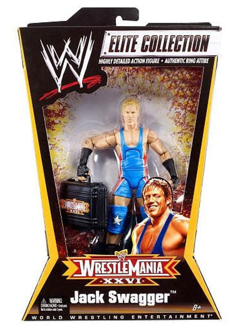 WWE Wrestling Elite Collection WrestleMania 26 Jack Swagger Exclusive Action Figure
