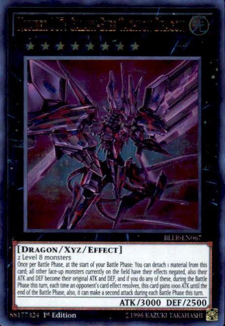 YuGiOh Battles of Legend: Light's Revenge Ultra Rare Number 107: Galaxy-Eyes Tachyon Dragon BLLR-EN067