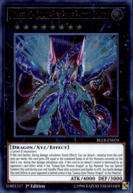 YuGiOh Battles of Legend: Light's Revenge Ultra Rare Number 62: Galaxy-Eyes Prime Photon Dragon BLLR-EN070