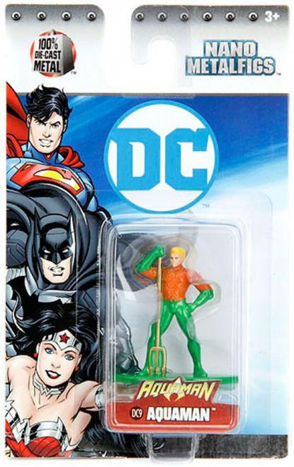DC Nano Metalfigs Aquaman 1.5-Inch Diecast Figure DC9 [DC9]