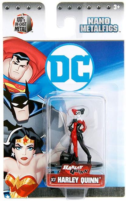 DC Nano Metalfigs Harley Quinn 1.5-Inch Diecast Figure DC17 [DC17]