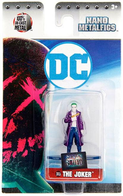 DC Suicide Squad Nano Metalfigs The Joker 1.5-Inch Diecast Figure DC6 [DC6]