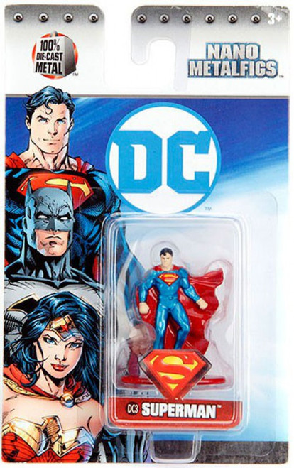 DC Nano Metalfigs Superman 1.5-Inch Diecast Figure DC3 [DC3]