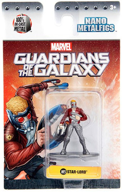 Marvel Guardians of the Galaxy Nano Metalfigs Star-Lord 1.5-Inch Diecast Figure MV5