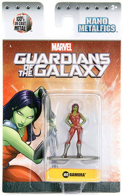 Marvel Guardians of the Galaxy Nano Metalfigs Gamora 1.5-Inch Diecast Figure MV8