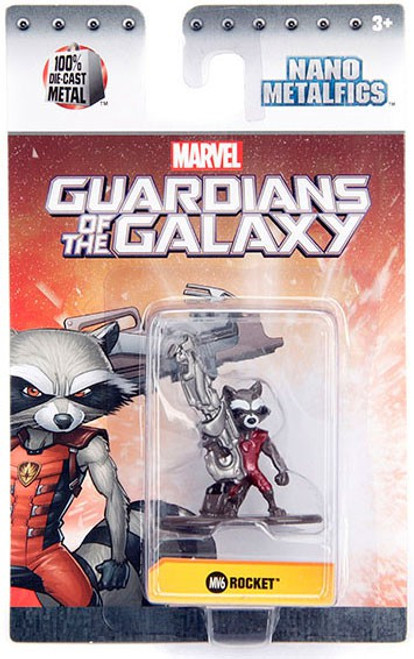 Marvel Guardians of the Galaxy Nano Metalfigs Rocket 1.5-Inch Diecast Figure MV6