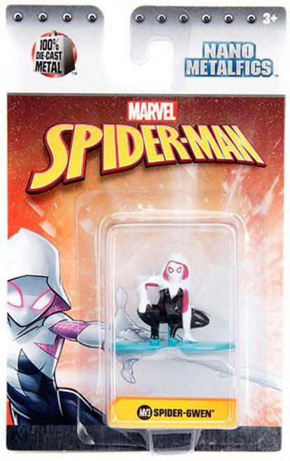 Marvel Spider-Man Nano Metalfigs Spider-Gwen 1.5-Inch Diecast Figure MV3