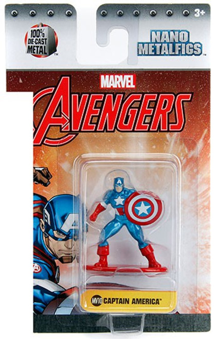 Marvel Avengers Nano Metalfigs Captain America 1.5-Inch Diecast Figure MV10