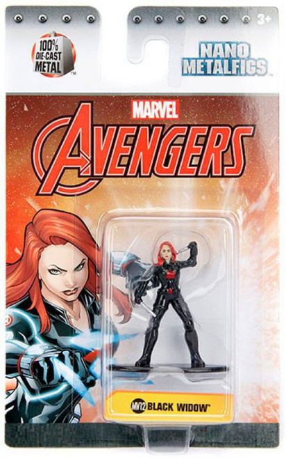 Marvel Avengers Nano Metalfigs Black Widow 1.5-Inch Diecast Figure MV12
