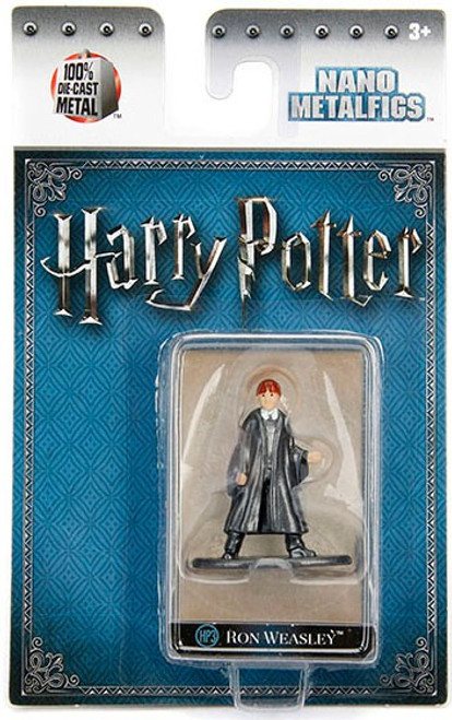 Harry Potter Nano Metalfigs Ron Weasley 1.5-Inch Diecast Figure HP3 [Year 1]
