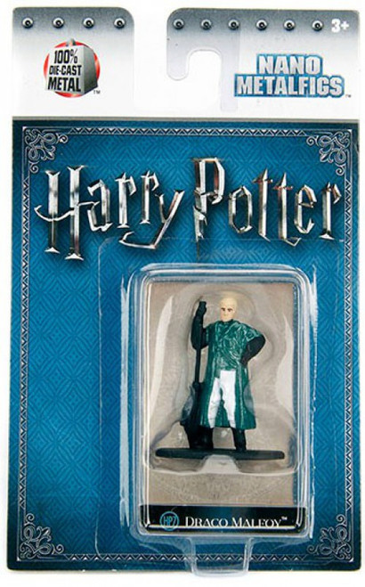 Harry Potter Nano Metalfigs Draco Malfoy 1.5-Inch Diecast Figure HP7 [Quidditch]
