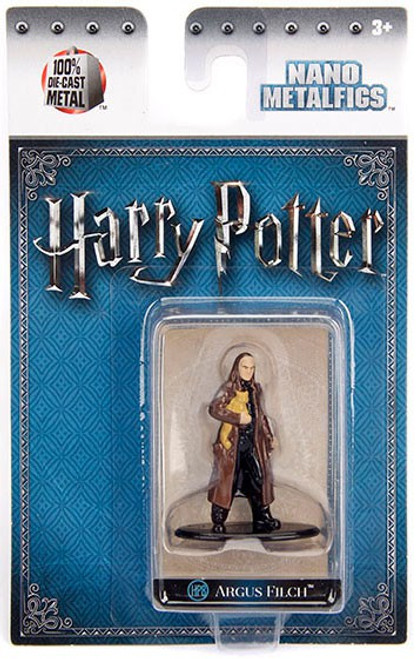 Harry Potter Nano Metalfigs Argus Filch 1.5-Inch Diecast Figure HP8