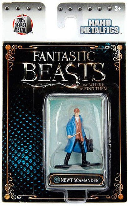Harry Potter Fantastic Beasts Nano Metalfigs Newt Scamander 1.5-Inch Diecast FIgure HP11