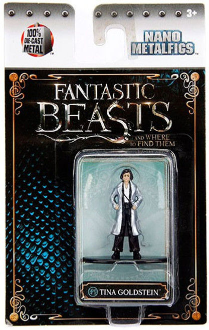 Harry Potter Fantastic Beasts Nano Metalfigs Tina Goldstein 1.5-Inch Diecast FIgure HP12