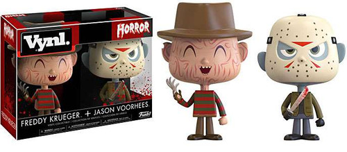 Funko Horror Vynl. Freddy Krueger & Jason Voorhees Vinyl Figure 2-Pack