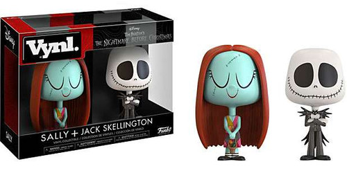 Funko Nightmare Before Christmas Vynl. Sally & Jack Skellington Vinyl Figure 2-Pack