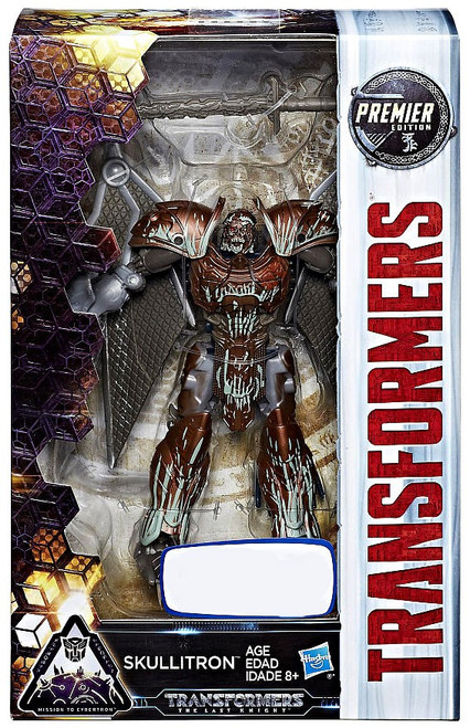 Transformers The Last Knight Premier Deluxe Skullitron Exclusive Deluxe Action Figure