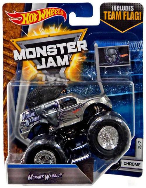 Hot Wheels Monster Jam 25 Mohawk Warrior Die-Cast Car [1:55]