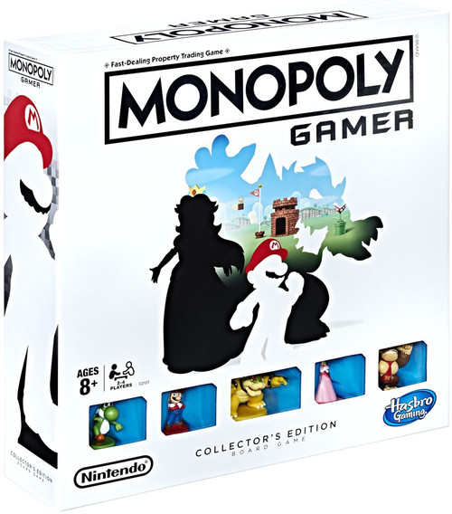 Monopoly Super Mario Gamer Collector's Edition Board Game