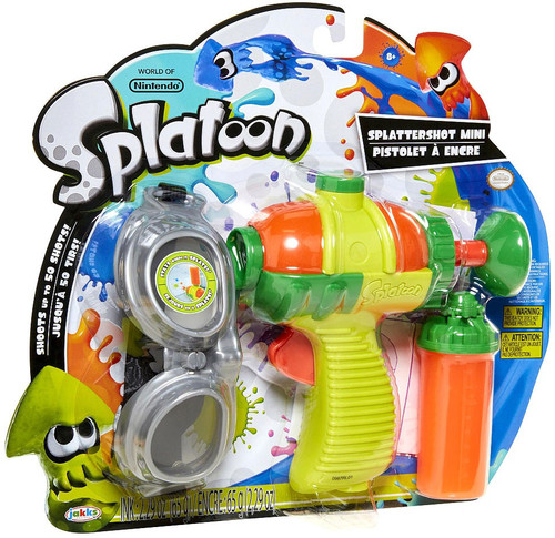 Splatoon Splattershot Mini Roleplay Toy