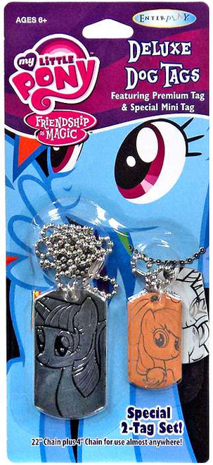 My Little Pony Friendship is Magic Twilight Sparkle & Applejack Dog Tag 2-Pack [Loose]