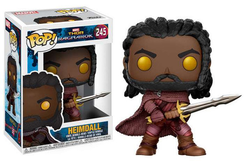 Funko Thor: Ragnarok POP! Marvel Heimdall Vinyl Bobble Head #245