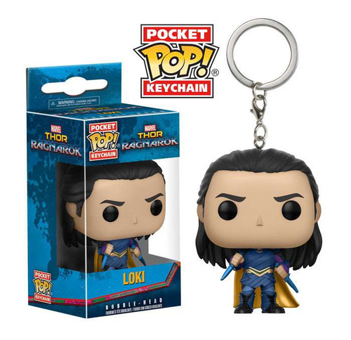 Funko Thor: Ragnarok POP! Marvel Loki Keychain