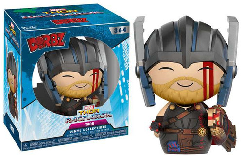 Funko Marvel Thor: Ragnarok Dorbz Thor Vinyl Figure #364 [Regular Version with Helmet]