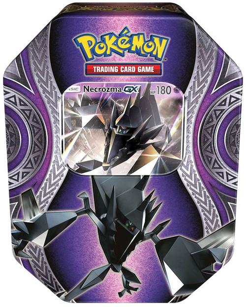 Pokemon Trading Card Game Mysterious Powers Necrozma GX Tin Set [4 Booster Packs & Promo Card]