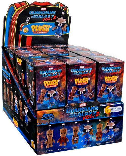 Marvel Original Minis Guardians of the Galaxy Vol. 2 Plush Clip-Ons Mystery Box [24 Packs]