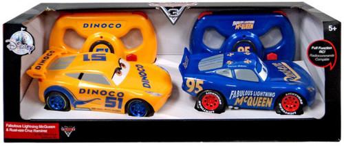 Disney / Pixar Cars Cars 3 Fabulous Lightning McQueen & Rust-eze Cruz Ramirez Exclusive R/C Vehicle 2-Pack