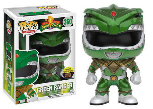 Funko Power Rangers POP! TV Green Ranger Exclusive Vinyl Figure #360 [Metallic, Damaged Package]