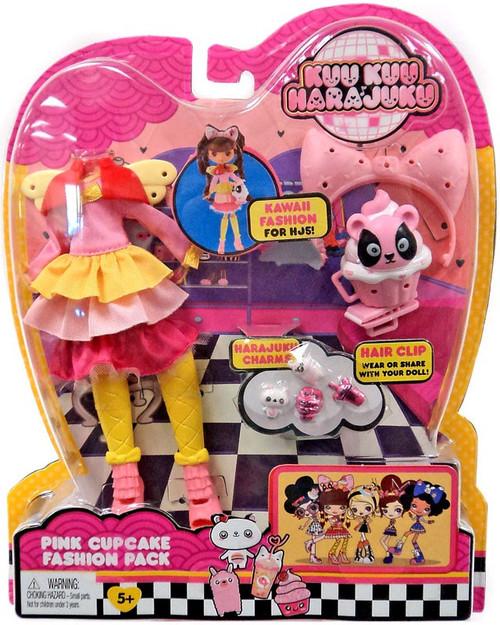Kuu Kuu Harajuku Pink Cupcake Fashion Pack