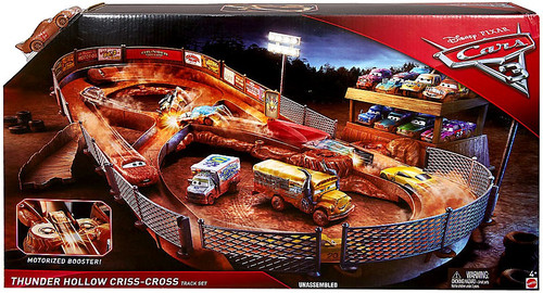 Disney / Pixar Cars Cars 3 Thunder Hollow Criss-Cross Playset