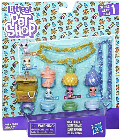 Littlest Pet Shop Tropical Treasures Set
