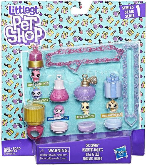 Littlest Pet Shop Series 1 Chic Charms Set