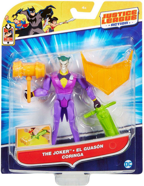 Justice League Action JLA Power Connects The Joker Action Figure [JLA]