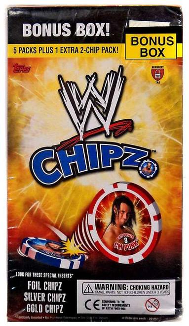 WWE Wrestling Topps Chipz Bonus Box