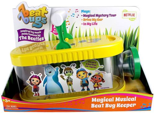 Beat Bugs Magical Musical Beat Bug Keeper Figure Case