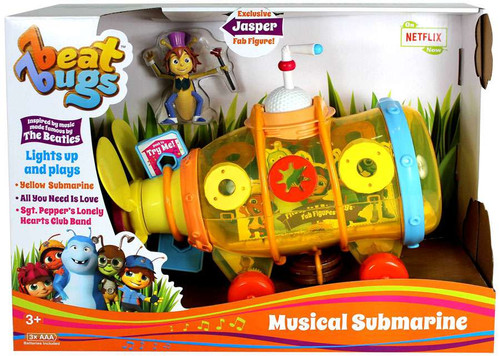 Beat Bugs Musical Submarine Action Figure Vehicle